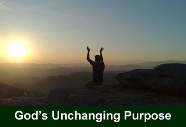 Gods Unchanging Purpose